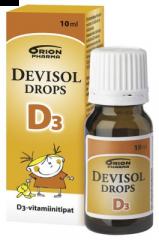 DEVISOL DROPS D3 TIPAT 10 ML