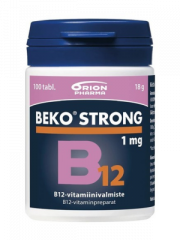 BEKO STRONG B12 1MG 100 tabl