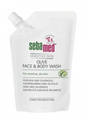 SEBAMED OLIVE FACE&BODY WASH PESUN. TÄYT 400 ML