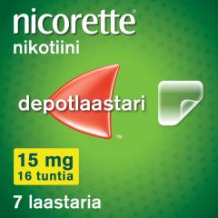 NICORETTE 15 mg/16 h depotlaast 7 kpl