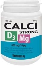 Calci Strong +D3 +Mg 150 tabl